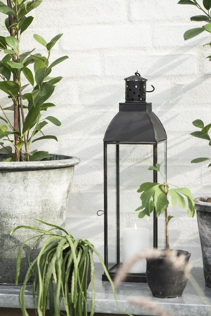 Impressionen zu Ib Laursen Metall Laterne schwarz mit Haken, Bild 2