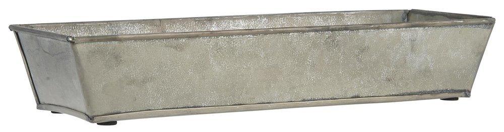 Ib Laursen Metall Tablett Schale mit schrägen Seiten