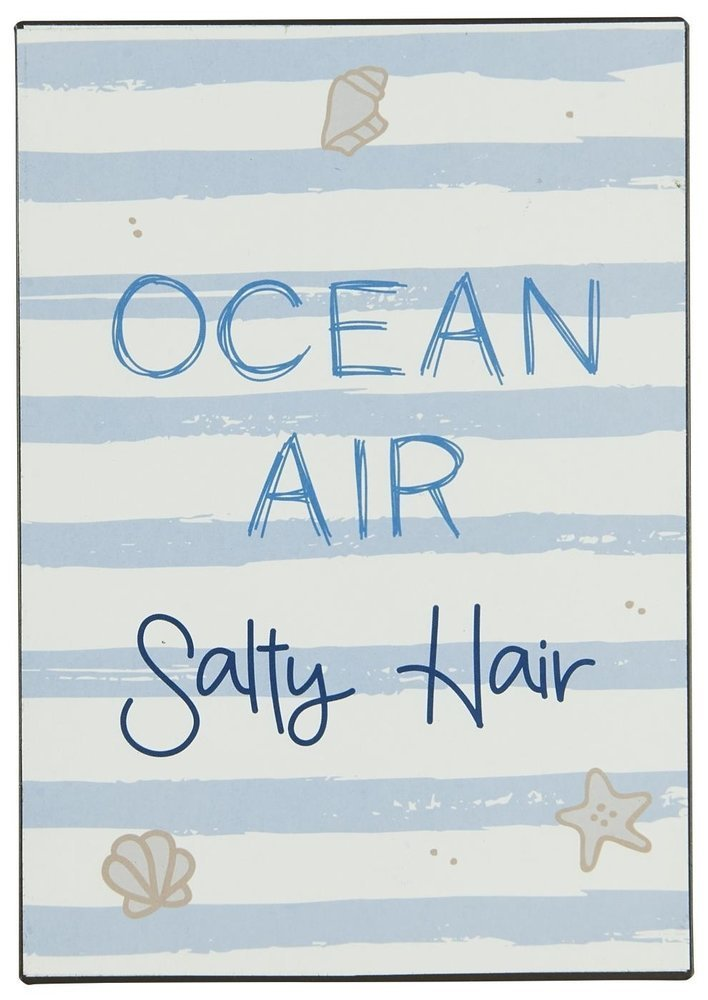 Ib Laursen Metallschild Ocean Air Salty Hair