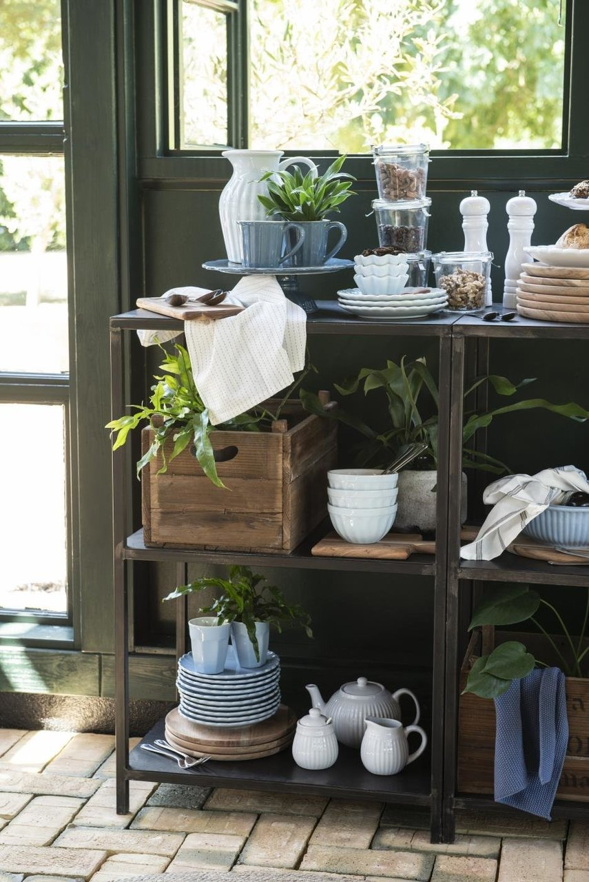 Mynte Cornflower, Stillwater und Pure White