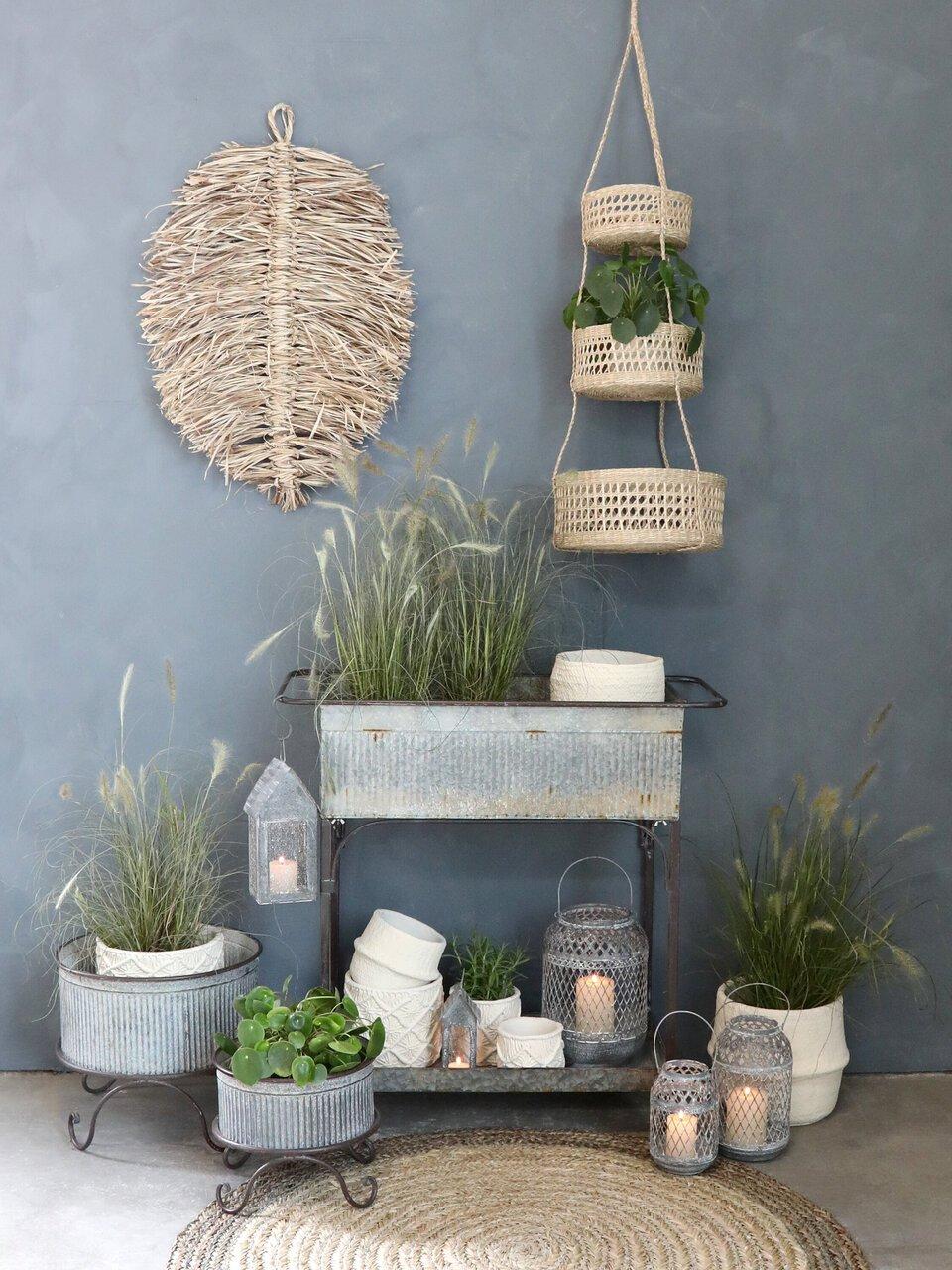 Natürliche Pflanzenecke