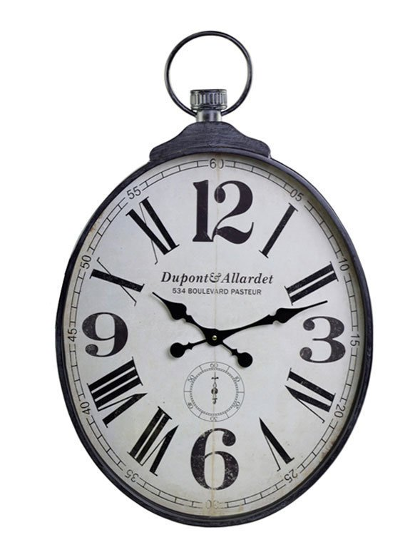 Chic Antique Nostalgie Wanduhr XL