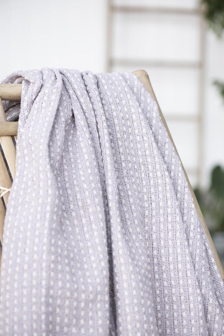 Impressionen zu Ib Laursen Plaid Decke mit Eckmuster, Bild 2