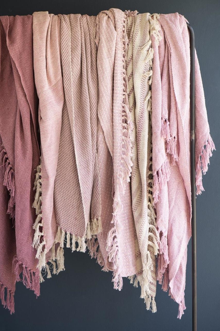 Impressionen zu Ib Laursen Plaid Decke mit Eckmuster, Bild 5