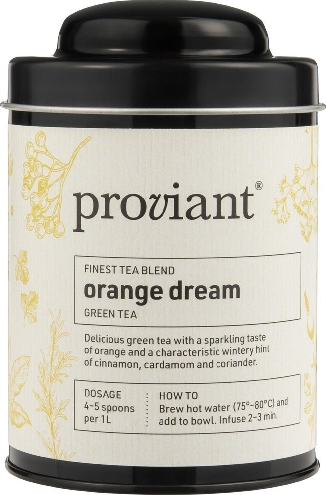 Proviant Grüner Tee Orange Dream