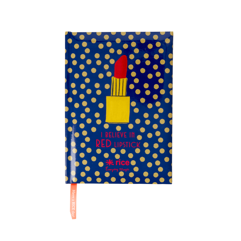 RICE A5 Bullet Journal Believe in Red Lipstick