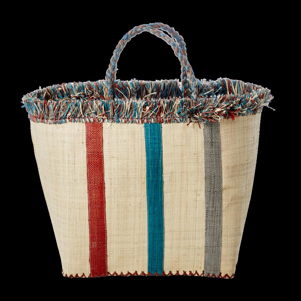 RICE Einkaufstasche Funky Stripes