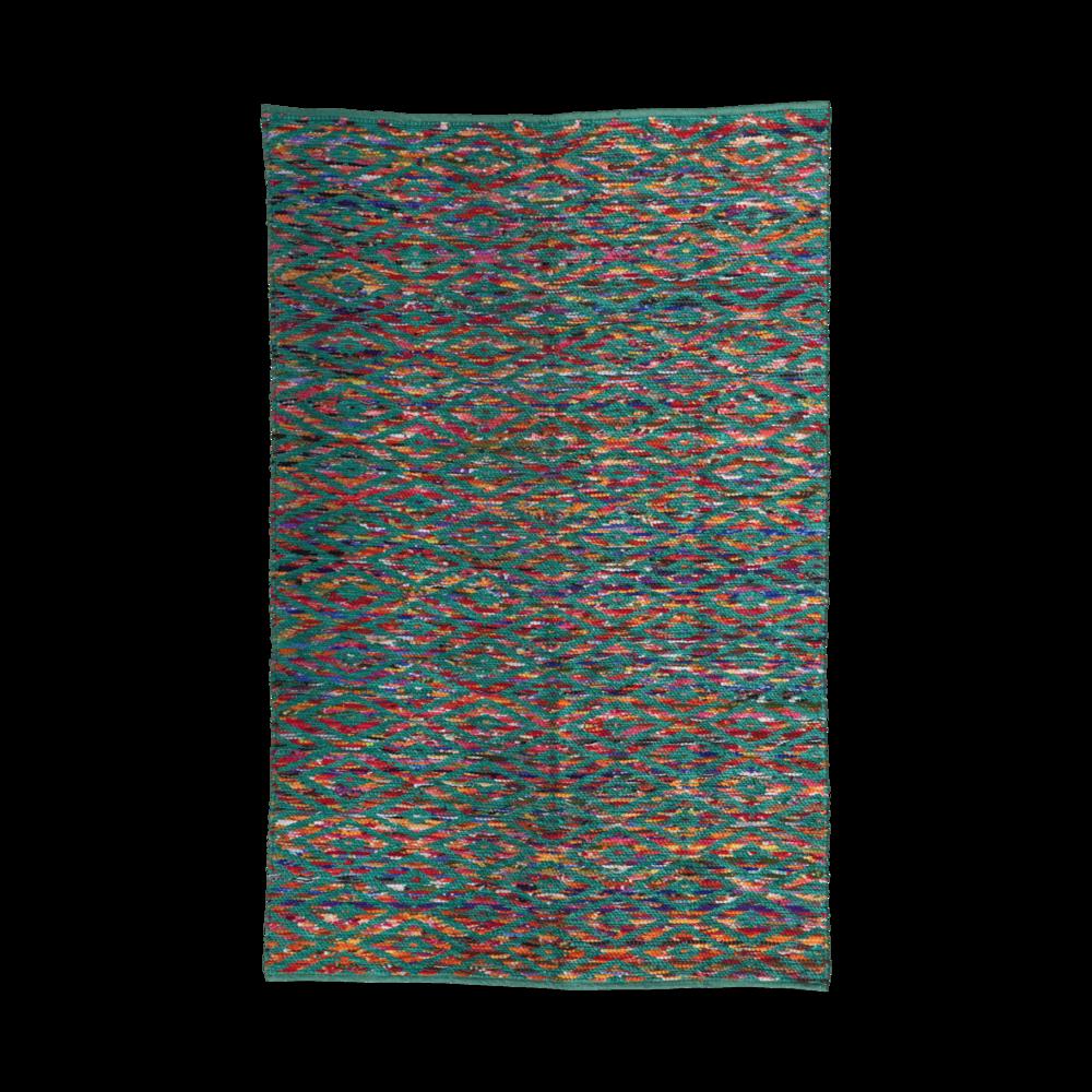 RICE handgewebter Teppich
