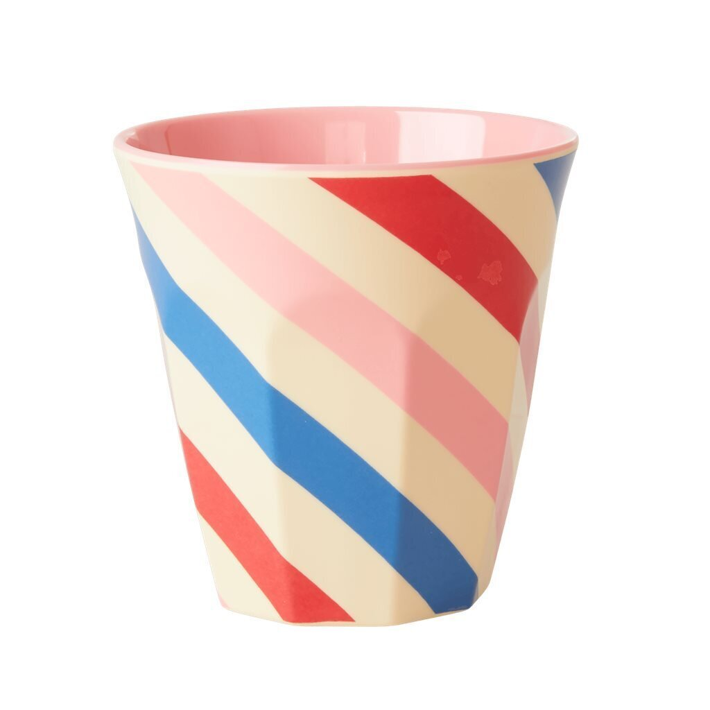 RICE Melamin Becher Candy Stripes