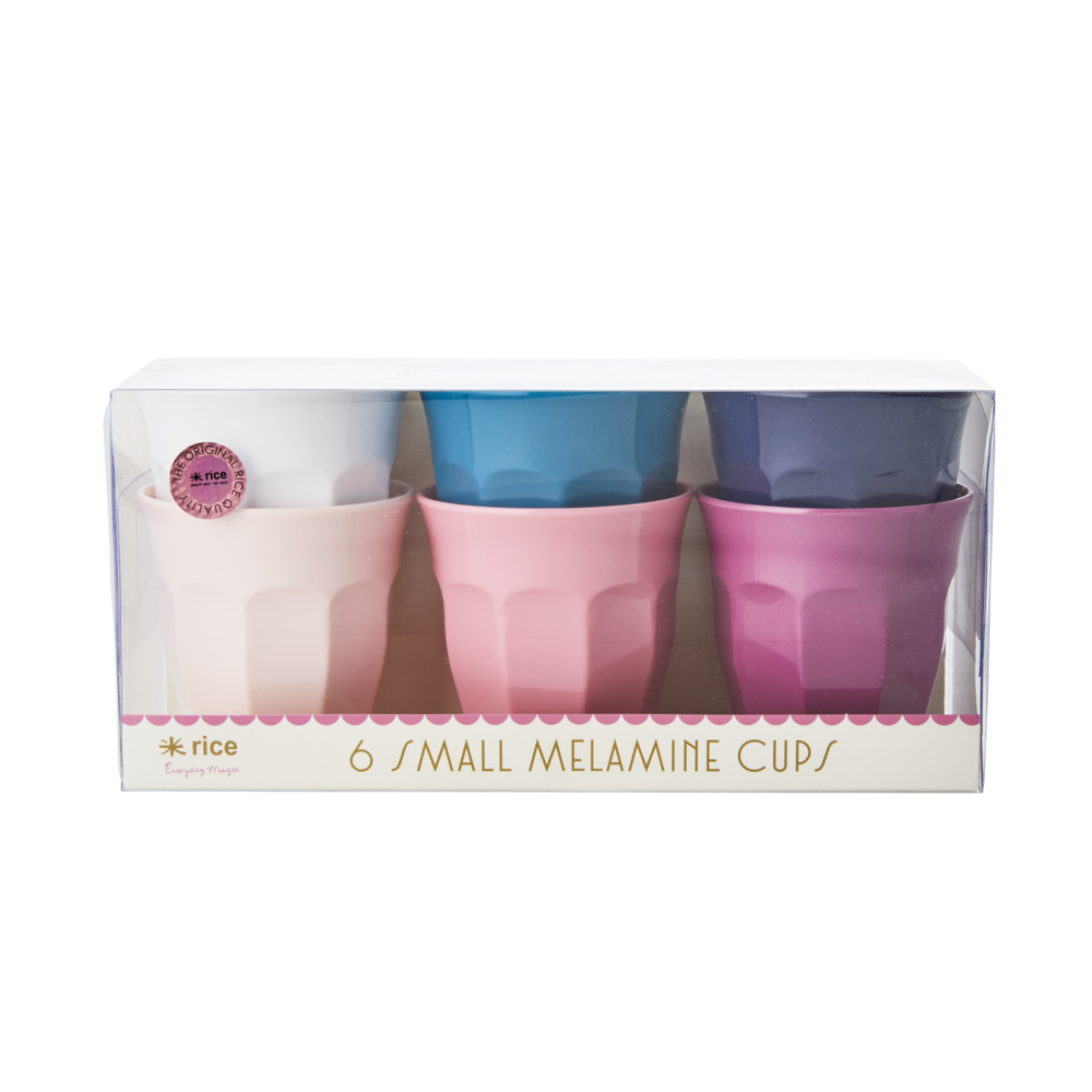 RICE Melamin Becher S Set Simply Yes