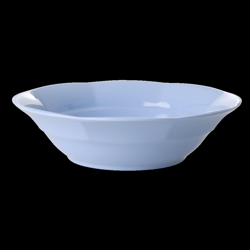 RICE Melamin Suppenteller einfarbig