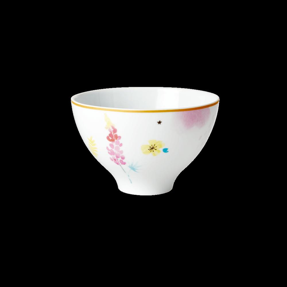 RICE Porzellan Schüssel Flowers