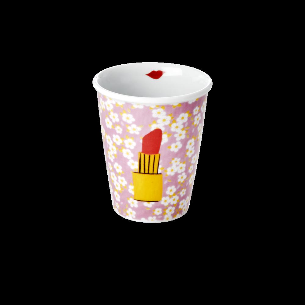 RICE Porzellan Tasse Lipstick