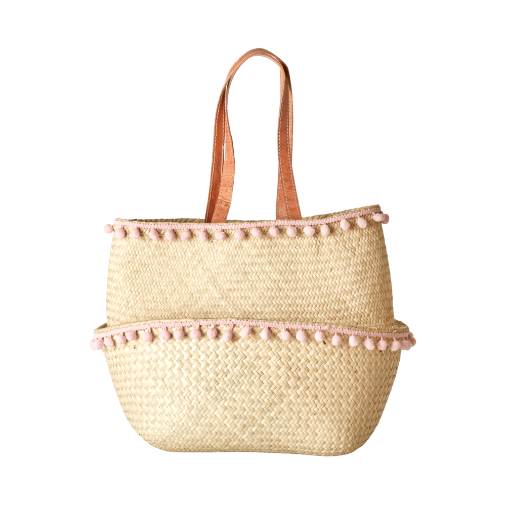 RICE Raffia Shoppingtasche