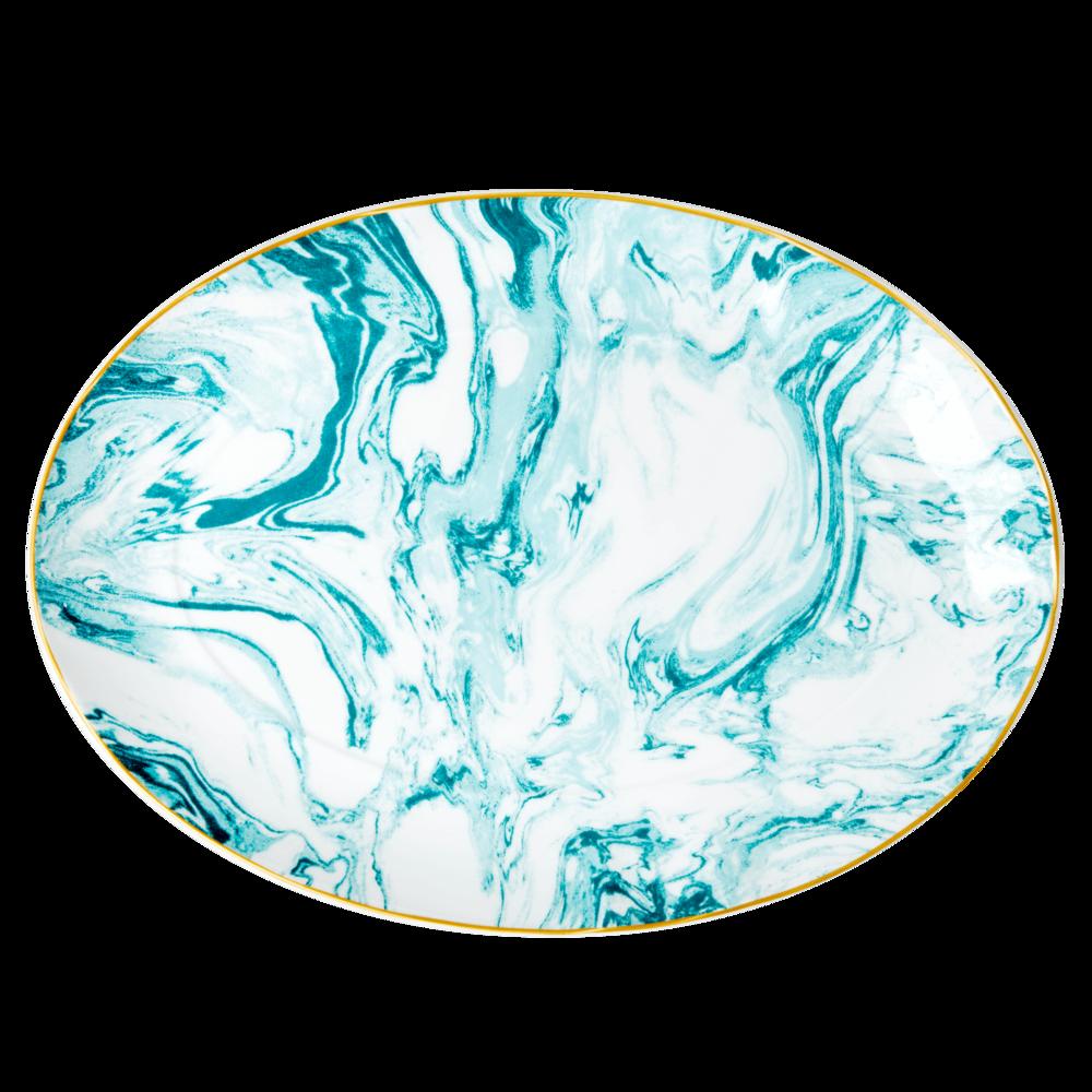 RICE Servierteller Marble