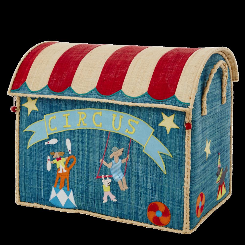 Impressionen zu RICE Spielzeugkörbe Aufbewahrung 3er Set Circus, Bild 1