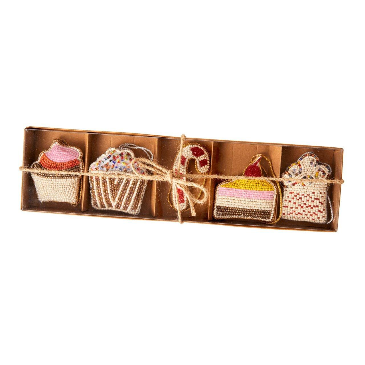 RICE Weihnachtsanhänger Geschenkbox