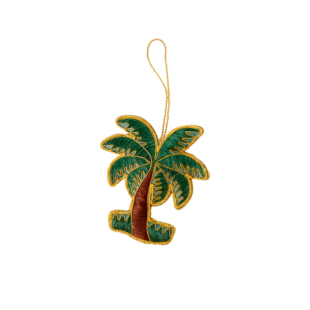 RICE Weihnachtsornament Palme
