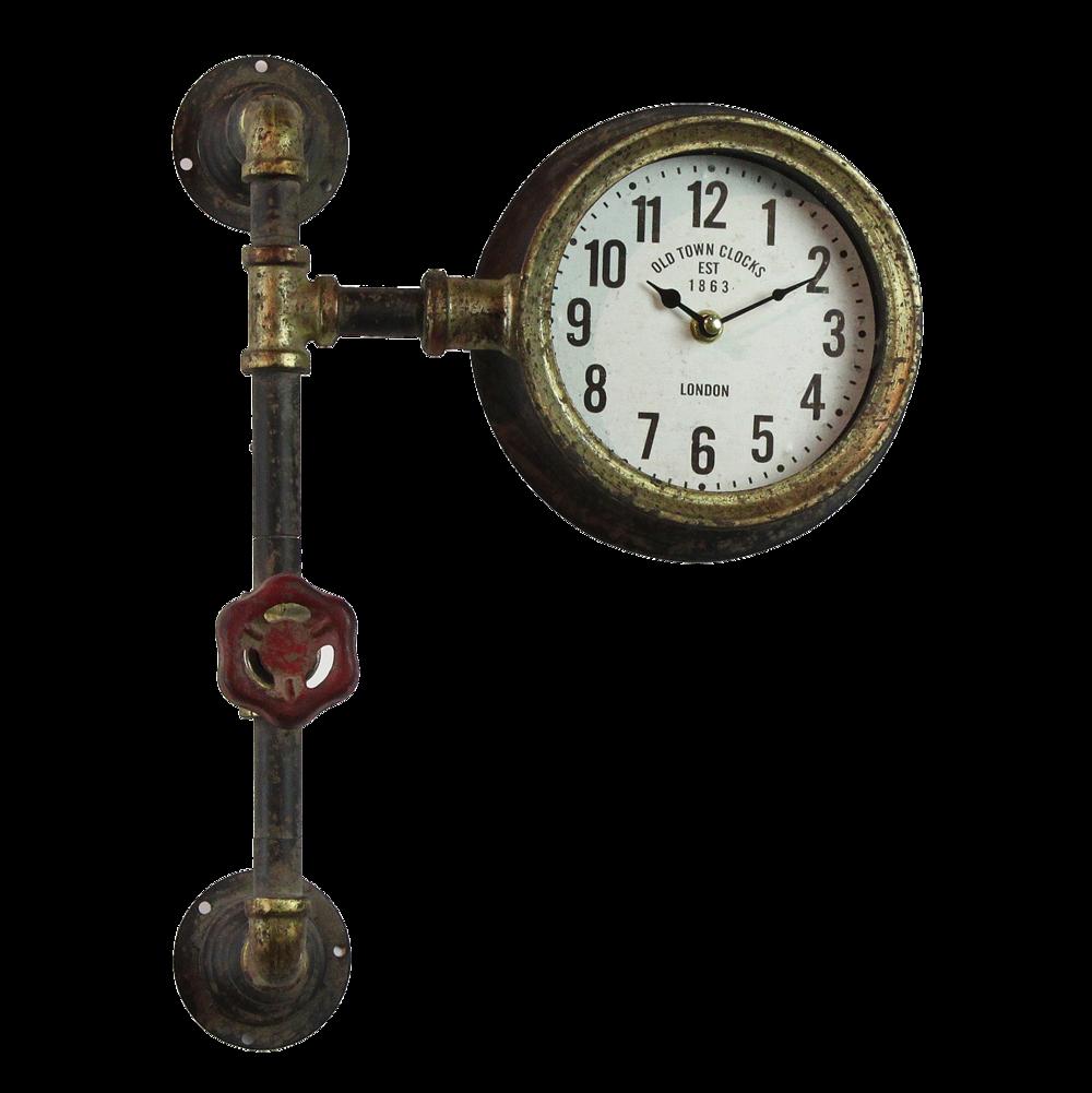 Clayre & Eef Rustikale Shabby Vintage Uhr