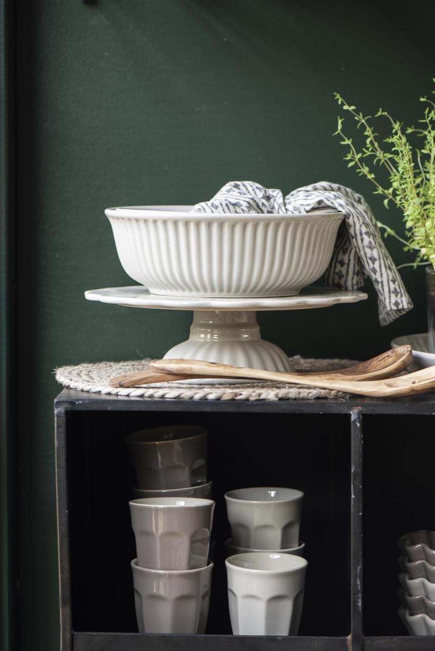 Impressionen zu Ib Laursen Salatbesteck Olivia UNIKA Olivenholz, Bild 3