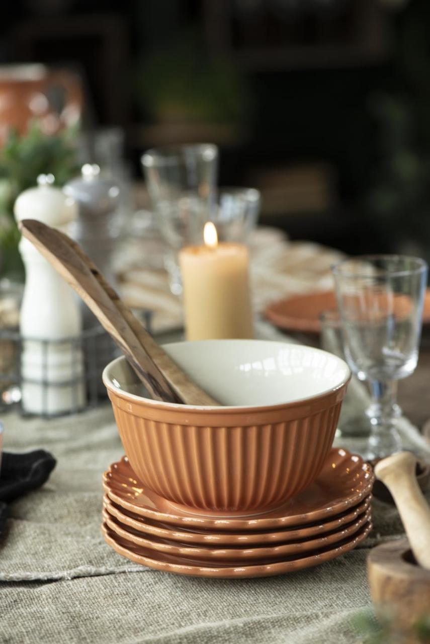 Impressionen zu Ib Laursen Salatbesteck Olivia UNIKA Olivenholz, Bild 7