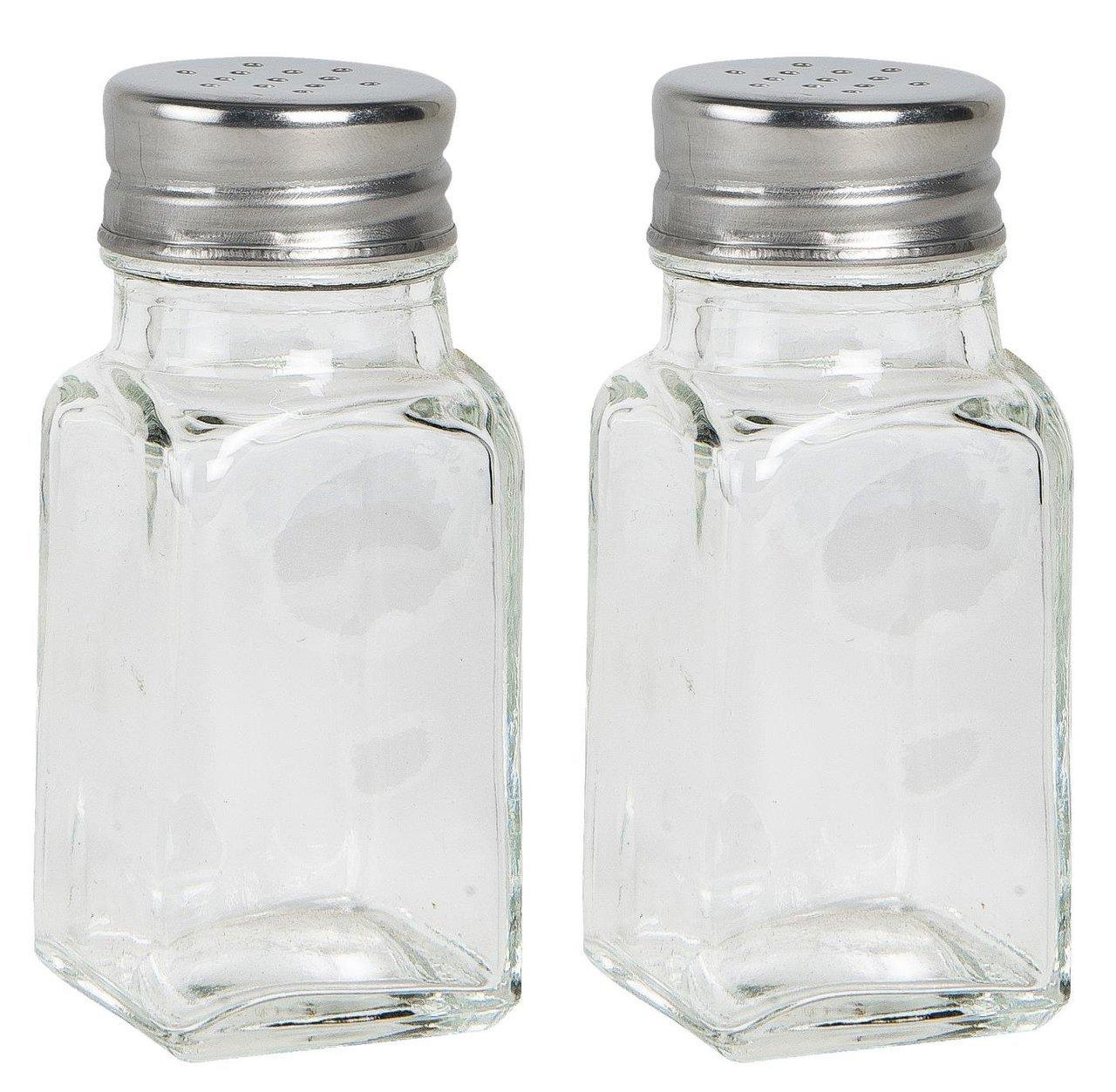 Ib Laursen Salz und Pfefferstreuer Set Glas