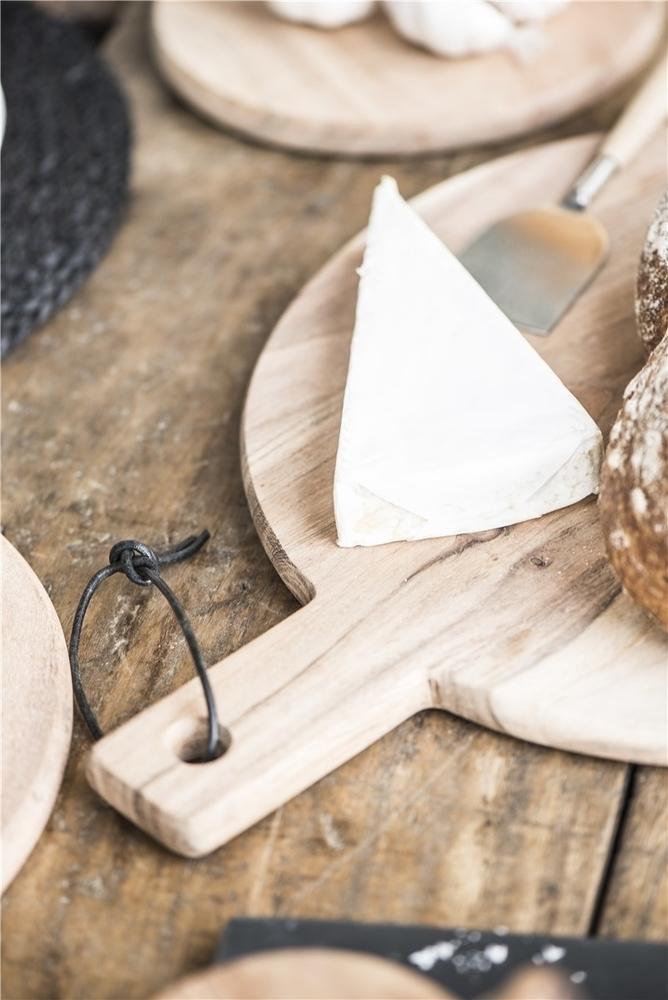 Impressionen zu Ib Laursen Schneidebrett rund aus Akazienholz, Bild 3