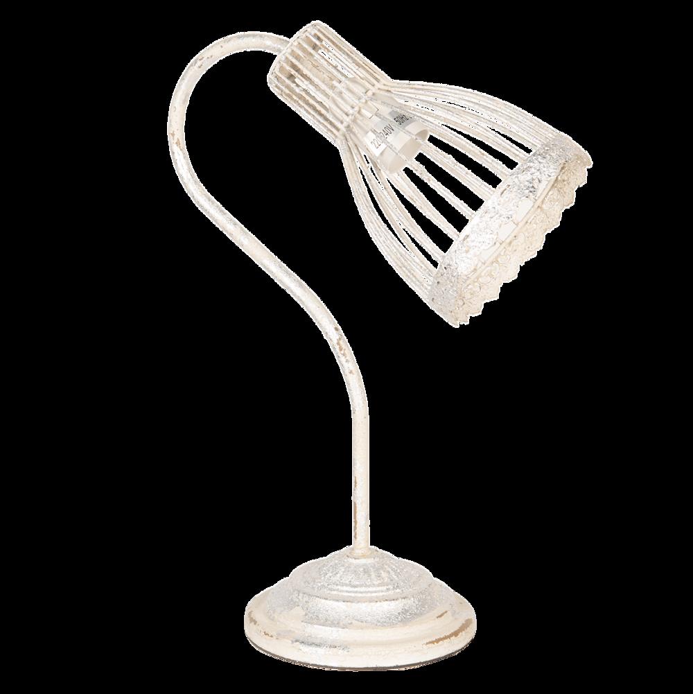 Clayre & Eef Schreibtischlampe Shabby