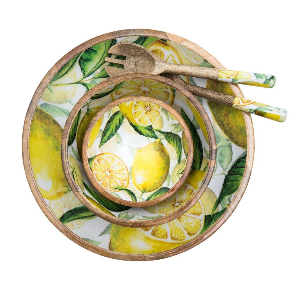 byRoom Schüssel Lemon Mangoholz