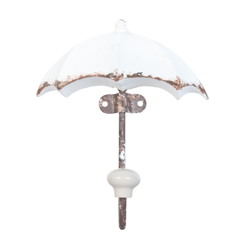 Clayre & Eef Shabby Chic Wandhaken Umbrella