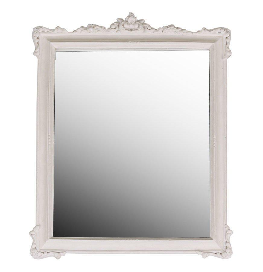 Chic Antique Spiegel mit Rosenkante