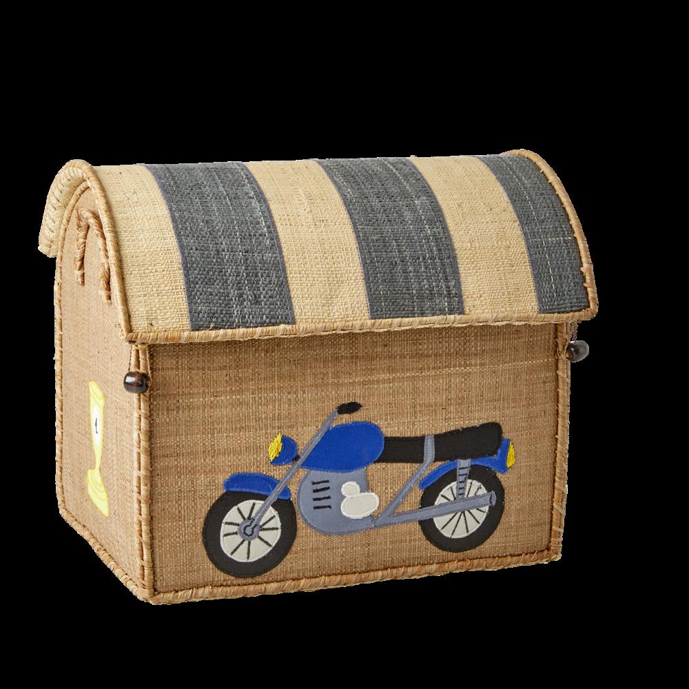 Impressionen zu RICE Spielzeug Aufbewahrung Behälter 3er Set Rennwagen, Bild 3