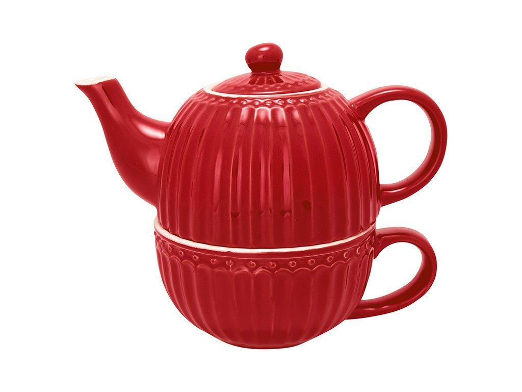 GreenGate Tea for one Teekannen Set Alice