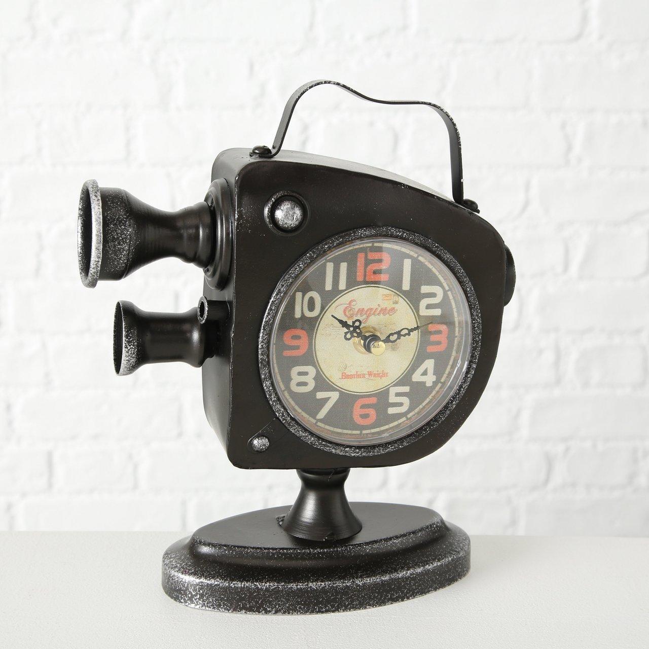 Boltze Tischuhr Filmkamera