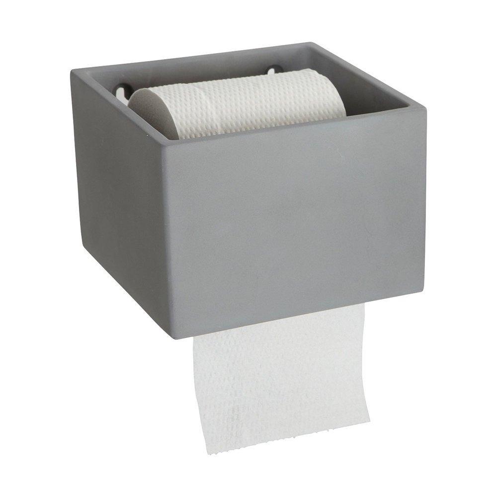 House Doctor Toilettenrollenhalter Cement