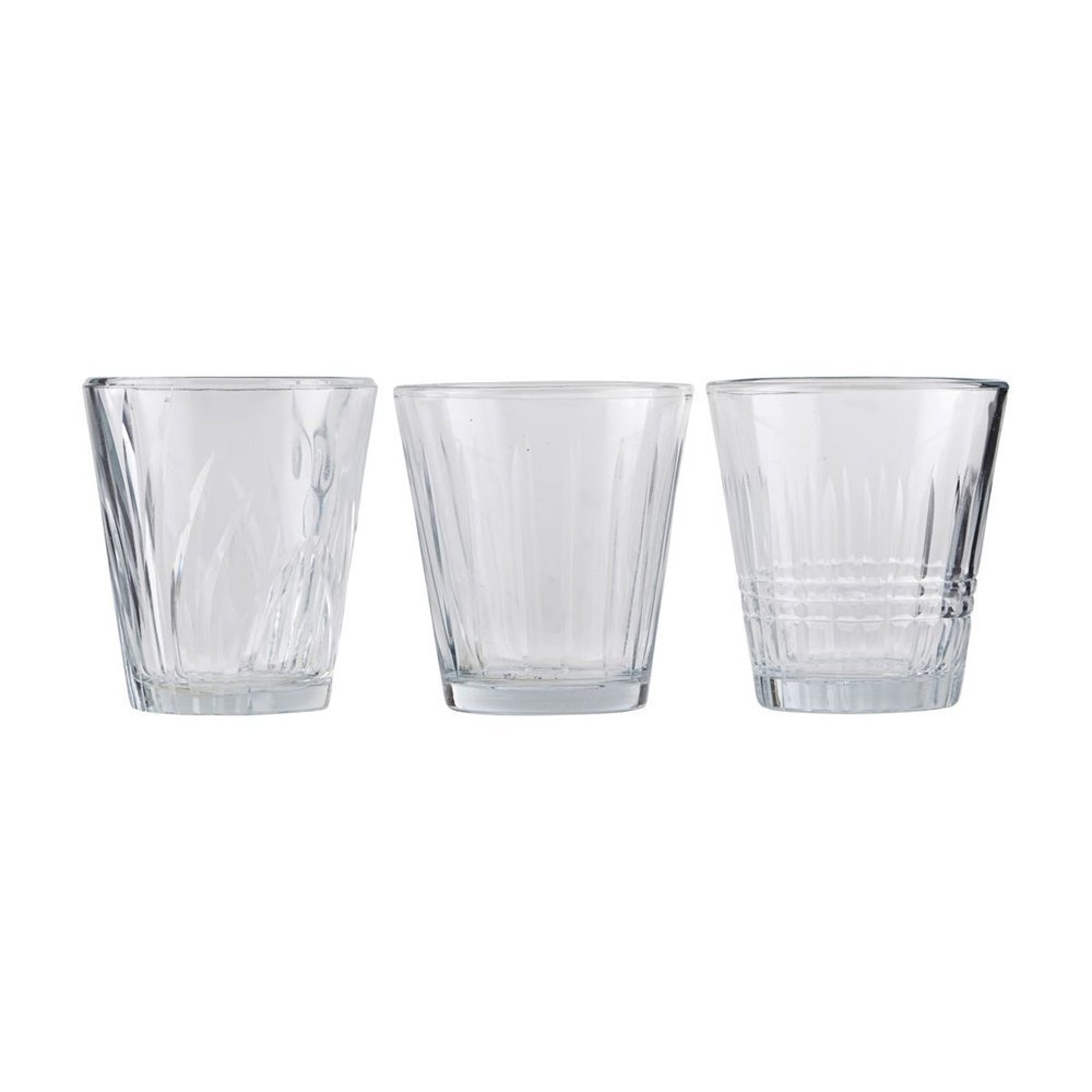 House Doctor Trink-Glas 6er Set, Vintage