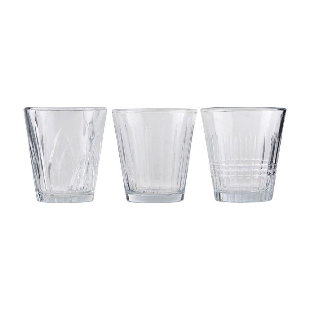 House Doctor Trink-Glas 3er Set, Vintage