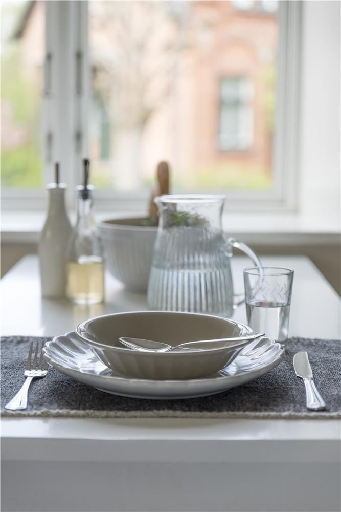 Impressionen zu Ib Laursen Trinkglas mit Blattkante geschliffen, Bild 1