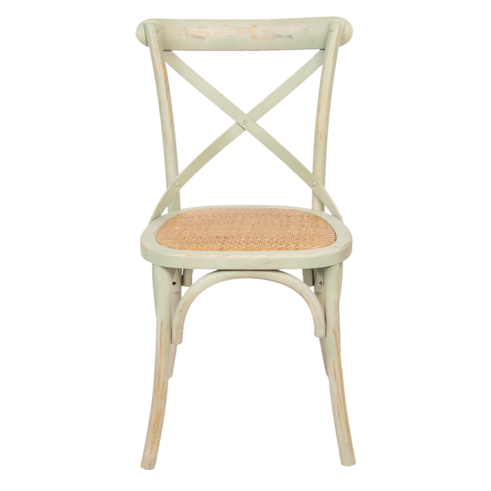 Clayre & Eef Vintage Holz-Stuhl Shabby Chic
