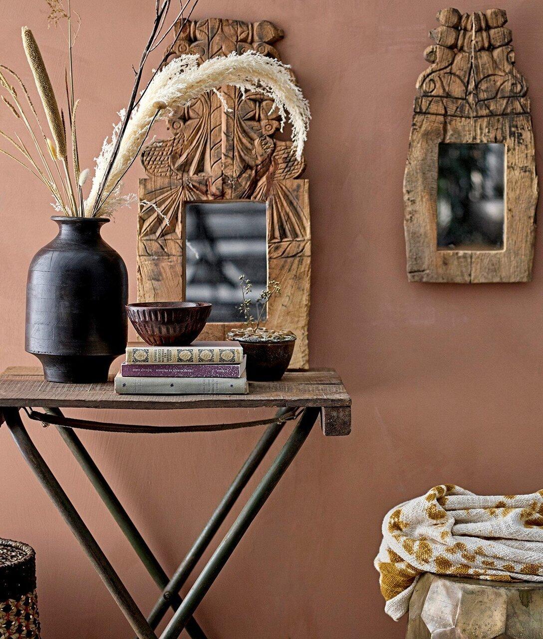 Warme dekorative Ecke von Bloomingville Saffron & Ginger