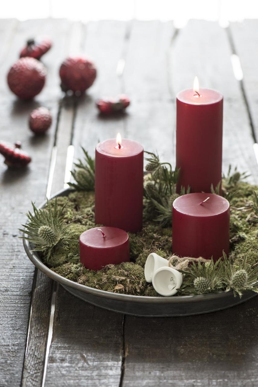 Impressionen zu Ib Laursen Weihnachtskugel gewelltes Muster, Bild 3