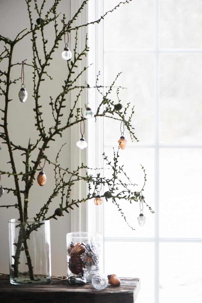Impressionen zu Ib Laursen Weihnachtskugel gewelltes Muster, Bild 4